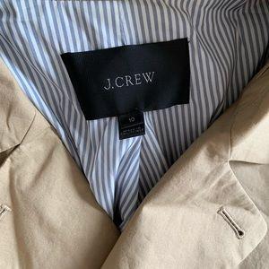 J. Crew Jackets & Coats - J Crew short trench coat